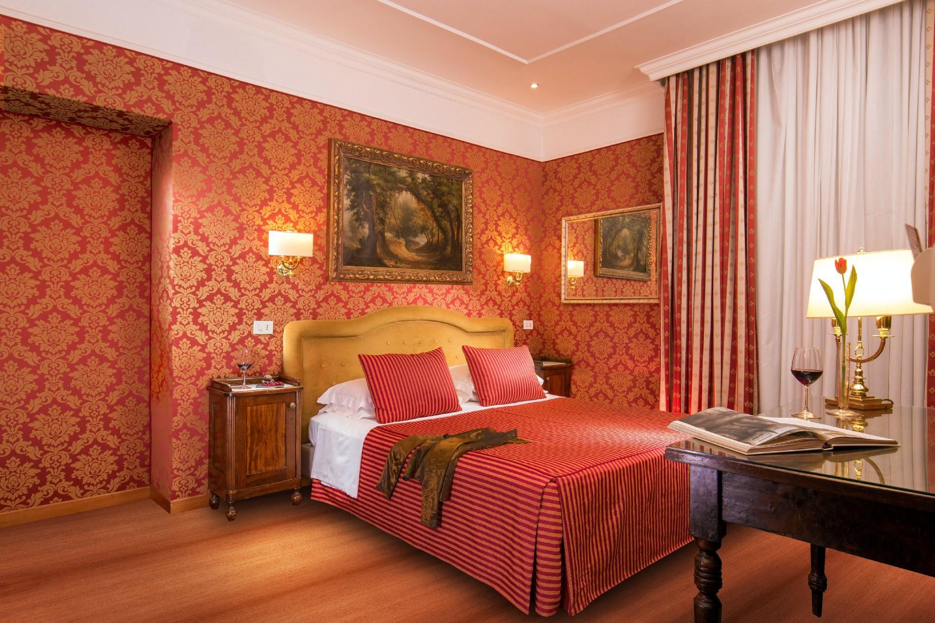 Hotel morgana roma camera comfort hotel 4 stelle roma for Camera roma
