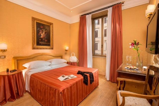 Hotel Morgana Rom | Deluxe-Zimmer | 4 Sterne Hotel Rom
